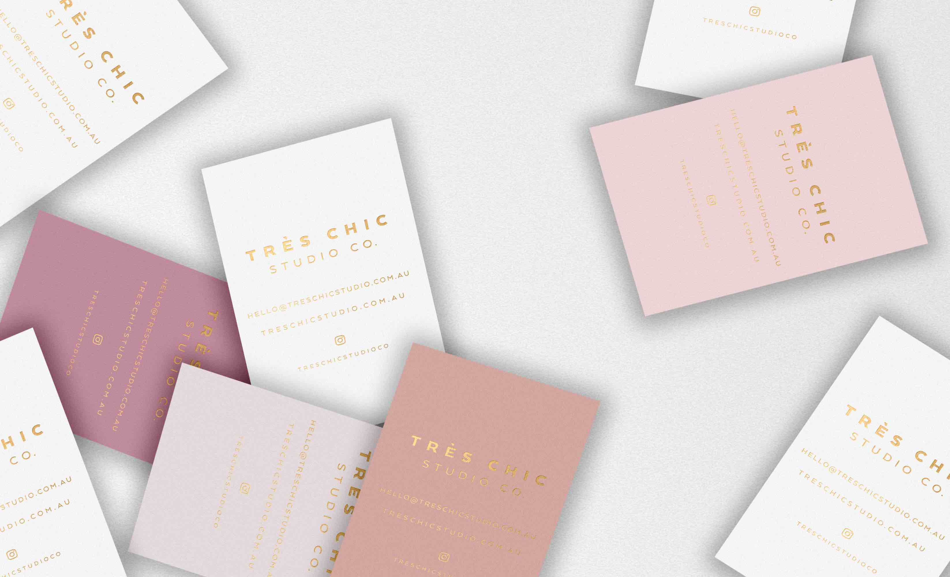 Tres Chic Studio Co   Luxe Premade Branding + Design