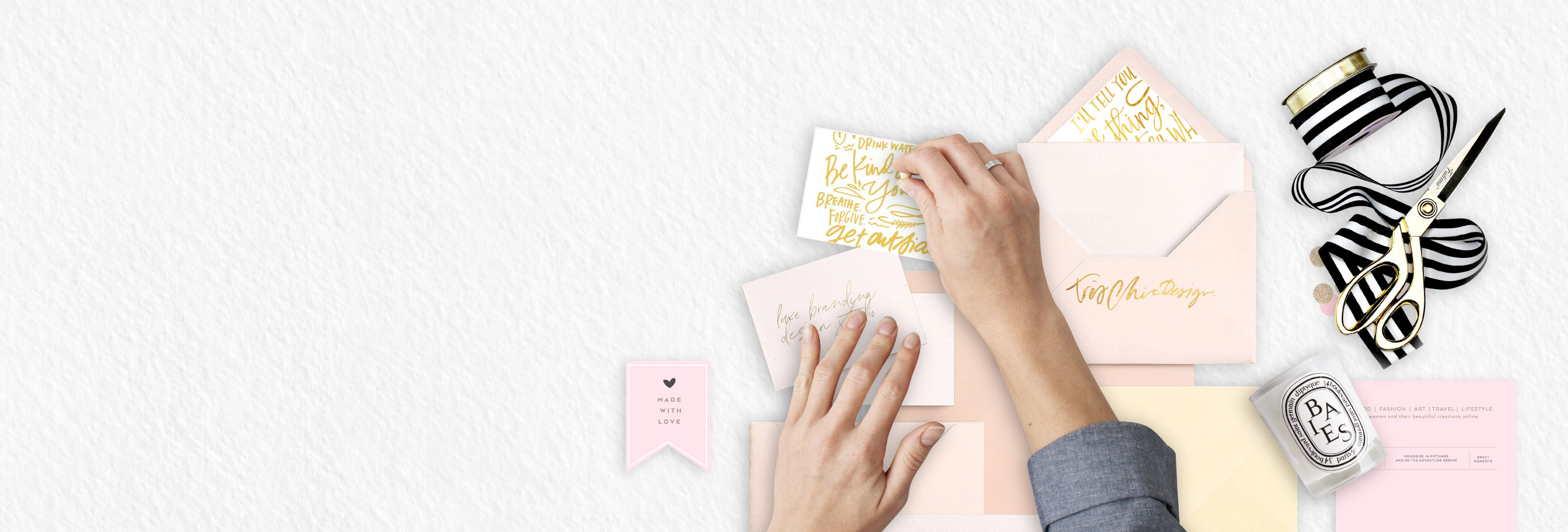 Tres Chic Studio Co | Luxe Premade Branding + Design